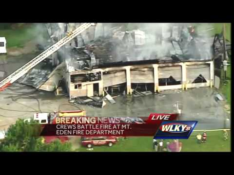 Ky. volunteer firehouse destroyed by fire