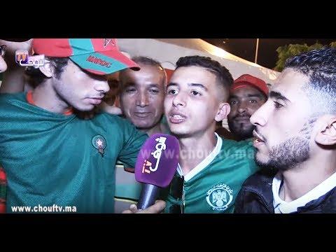 """المغاربة """"رجال"""".. شوفو آش دار هاد السيد مع الجمهور لي مشى يشجع المنتخب في الكوت الديفوار"""