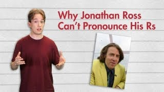 Why Jonathan Ross Can