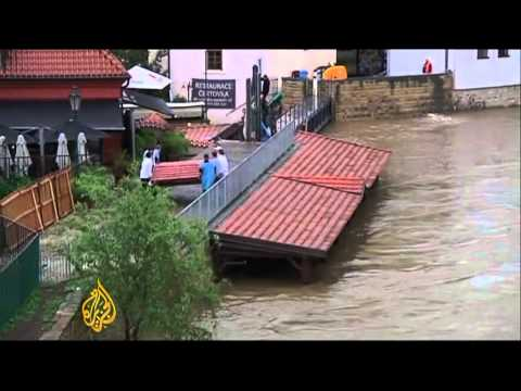 Major floods hit central Europe