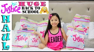 Justice Back to School Haul! 2016