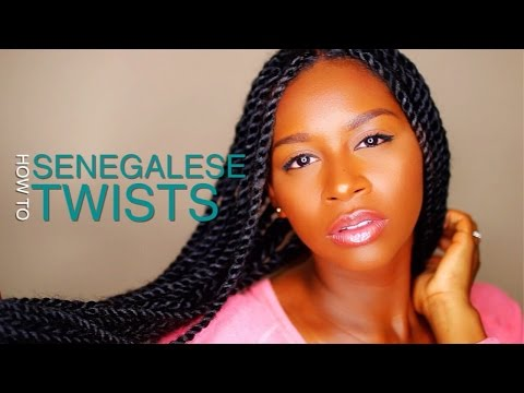 Senegalese Twists   HOW TO - Prep and Installation