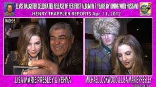 Lisa Marie Presley Album Release Dinner With Hubby H2843