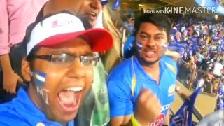 IPL MI vs KKR Electrifying experience at Wankhede