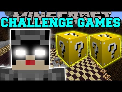 Minecraft: CATWOMAN CHALLENGE GAMES - Lucky Block Mod - Modded Mini-Game