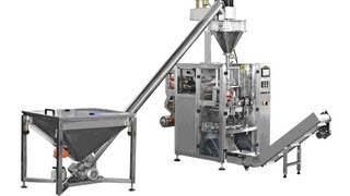 Automatic FFS detergent powder filling sealing packing machine Verpackungsmaschine fuer Waschpulver