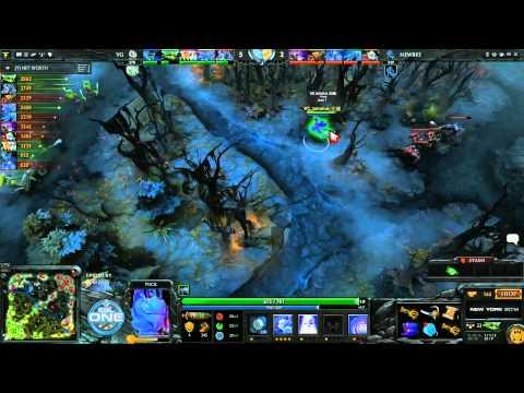 NewBee vs Vici Gaming Game 1  Grand Final ESL One CN Qualifier TobiWanDOTA  Clairvoyance
