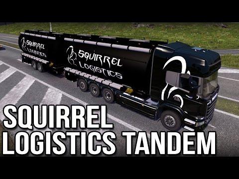 Squirrel Logistics — Tandem Mod (Euro Truck Simulator 2)