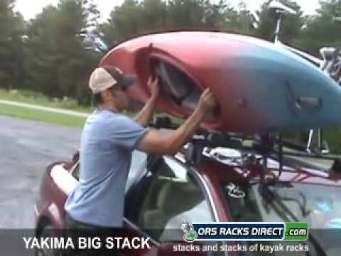 0 Yakima BigStack Kayak Rack Review Video & Demonstration