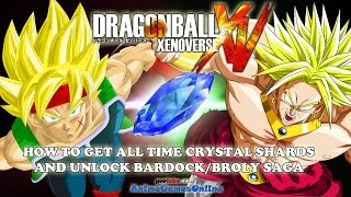 How to Get All Time Crystal Shards and Unlock Secret Bardock & Broly Saga - Dragon Ball Xenoverse