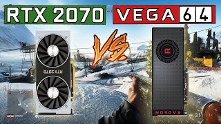 RTX 2070 vs RX Vega 64 | Gaming Comparison [4K, 1440p & 1080p]