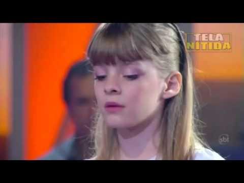 MICHELY MANUELY e sua irmã MILENI 29 10 11 Jovens Talentos Kids Raul Gil