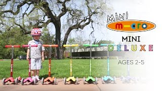 Mini Deluxe Scooters  |  Ian Powell Films