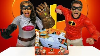 The Incredibles 2 Hydroliner Playset ! || Toy Review || Konas2002