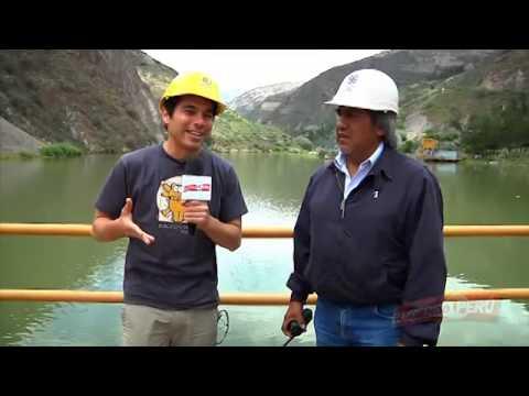 La energía ecológica de la hidroeléctrica del Mantaro.