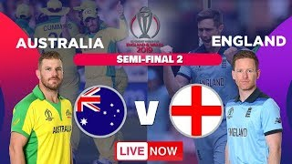 AUSTRALIA v ENGLAND LIVE - ENG vs AUS 2nd Semi Final - #ENGvsAUS