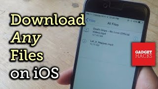 Download Save Almost Any File Type Onto Your IPhone How To VideoMp4Mp3.Com