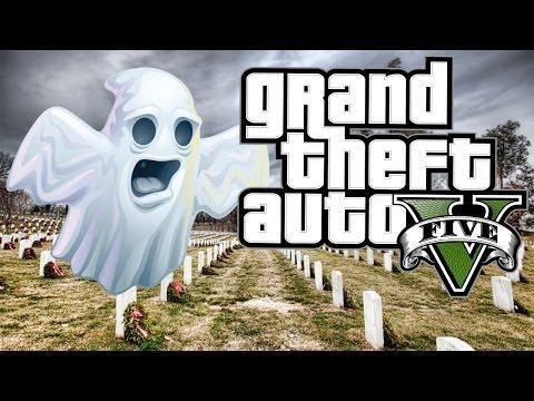 GTA 5 MISTERIOS   Explorando El Cementerio de Vinewood Hills