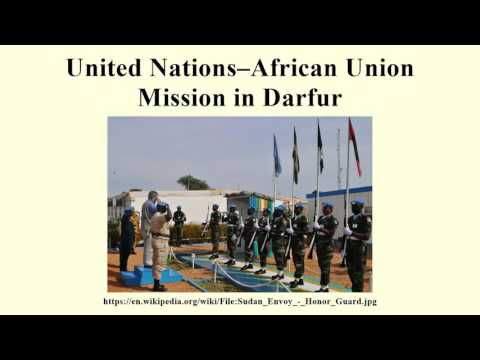 United Nations–African Union Mission in Darfur