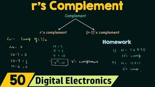 r's Complement