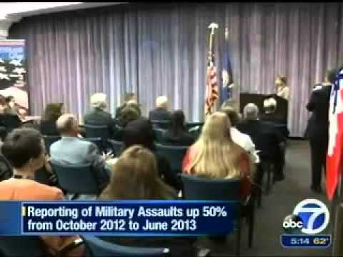 Rise In Reporting Of Military Rape video
