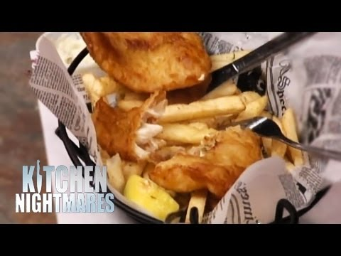 'Battered Cod Tastes Like a Breaded Condom' - Kitchen Nightmares