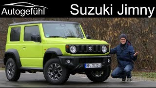all-new Suzuki Jimny FULL REVIEW - Autogefühl