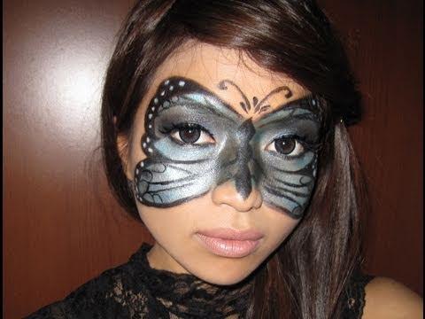 Butterfly Masquerade Halloween Makeup Tutorial