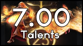 Dota 7.00 Talents Analysis - The Impact they