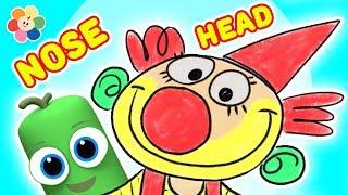 Head, Shoulders, Knees & Toes   Exercise Song for Children   Nursery Rhymes & Baby Songs   BabyFirst