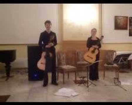 Astor Piazzolla - Tango No.3 - Slovak Guitar Duet