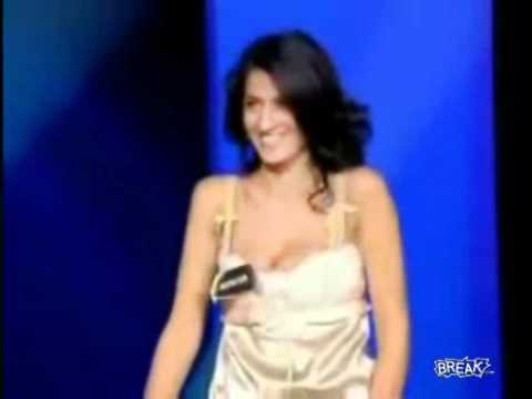 Really Hot and sexy French Game Show Contestant Video