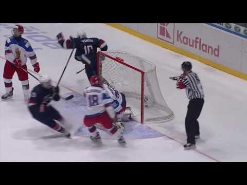 ЮЧМ-2017. США - Россия - 5:4. Обзор матча