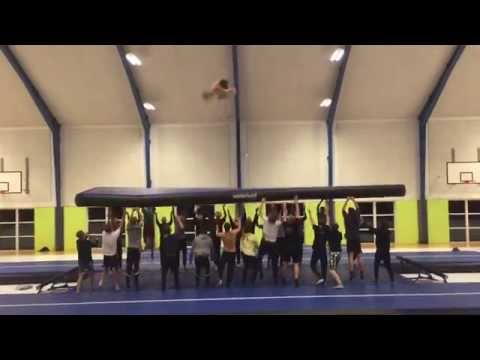 It Takes A Team To Make A Quadruple Backflip Happe