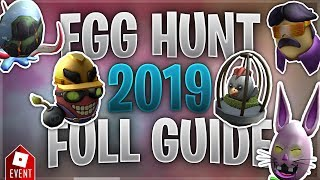 How to Get all the Eggs in the Egg Hunt [Part 2] (Roblox Egg Hunt 2019 Guide)
