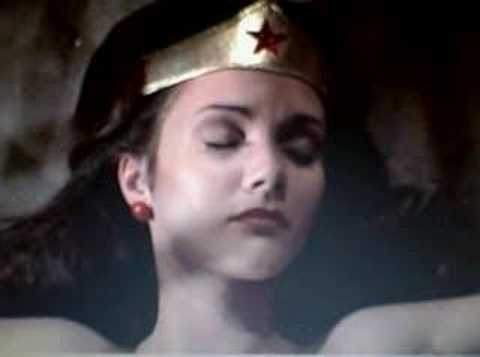 Woman Knocked Out Cold Wonder Woman Out Cold in The