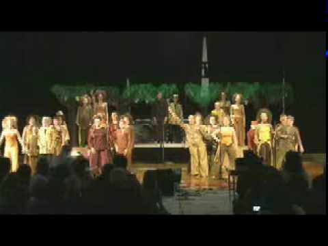 Somerset Valley Middle School Show Chorus (1)~ African Celebration~ Part 1