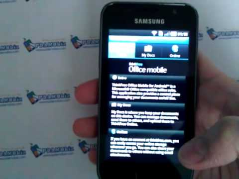 Samsung Galaxy SL software review by xenon_art.mp4