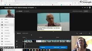 Editando e fazendo CORTES com o editor do YOUTUBE