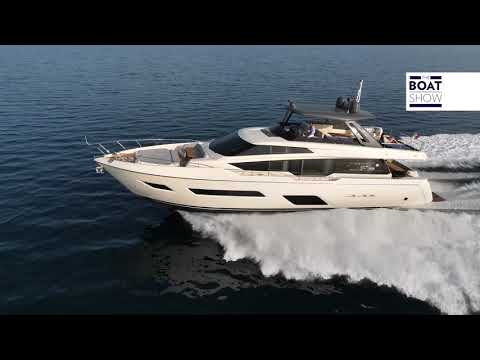 [ENG] FERRETTI 780  - 4K Full Review - The Boat Show
