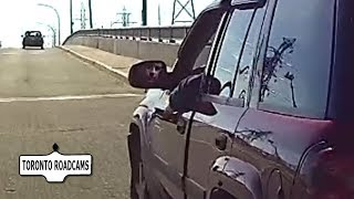 Bad driving or attempted insurance scam?