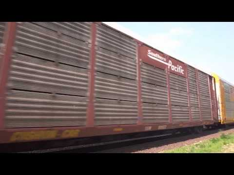 Shirley, MA: Norfolk Southern Freight Train (7608, 9501, 9496) Near Shirley Station