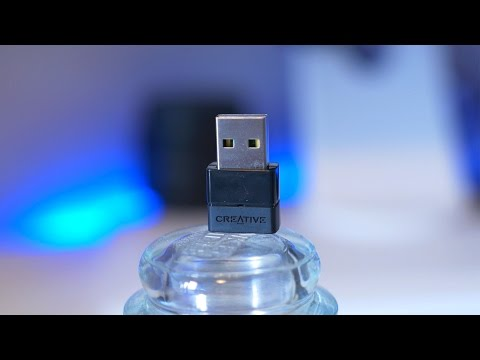 Creative BT-W2 Bluetooth Audio USB Transceiver Review (4K)