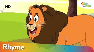 Magnificent Lion Rhyme in Tamil | Rhyme For Children | Shemaroo Kids Tamil