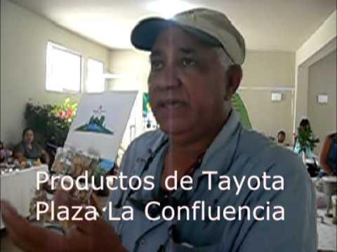 Productos de Tayota en la Plaza La Confluencia