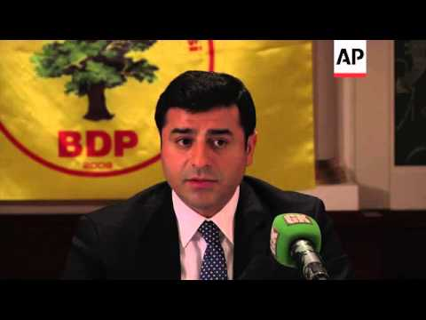 Pro-Kurdish party says it's in favour of a future Syria made up of autonomous regions