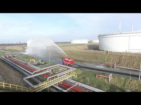 DNM Tank Farm Firefighting