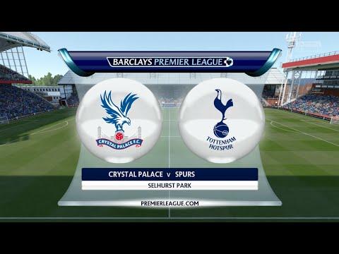 """FIFA 16 - Crystal Palace vs. Tottenham Hotspur """"London Derby"""" @ Selhurst Park"""
