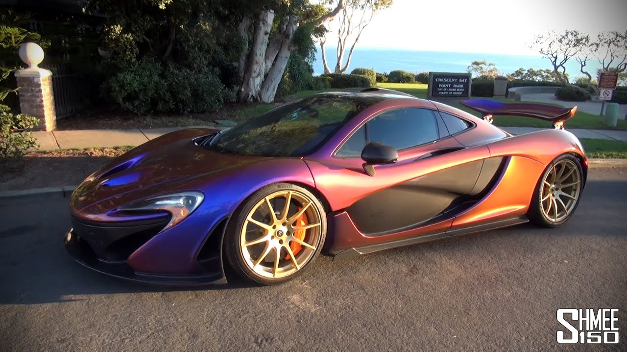 Mclaren P1 Special Cerberus Pearl Paint From Mso Youtube