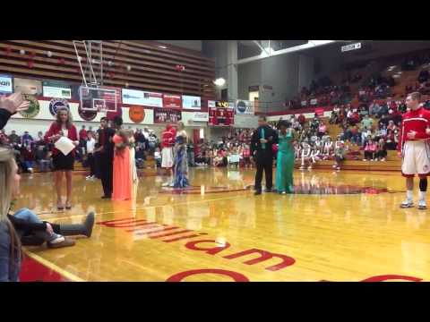 Jeffersonville High School basketball homecoming 2013